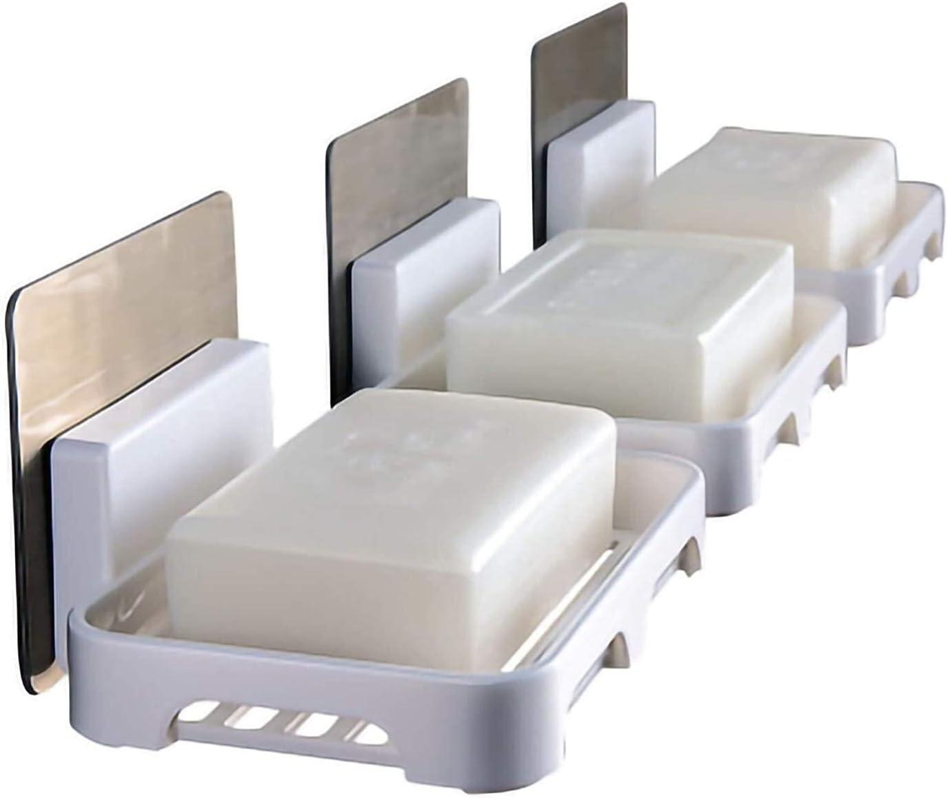 Shreem85 40% OFF Cheap Sale Bathroom Nippon regular agency Shelf Soap Dispenser Perforation-Free