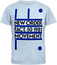 New Order - Fact 50 1981 Movement Soft T-Shirt