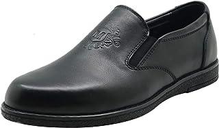 amropi Gar/çon Cuir Mocassins Plates Boucle Bateau Chaussure B/éb/é//Petit//Grand Enfant