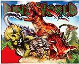 Depesche 10553 Stickerfun Dino World - Libro para Colorear con Hojas de Pegatinas, Multicolor