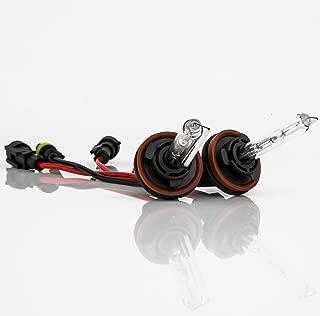 XENTEC H11 (H8/H9) 6000K HID Xenon Bulb x 1 pair (Ultra White)