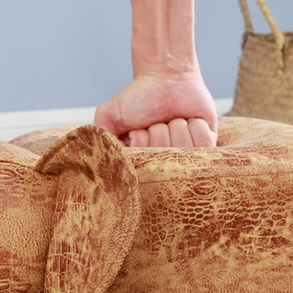 Dessin animé - Tabouret en matériau respectueux de l'environnement - Confortable - Épaissie - Surface en bois massif - 4 pieds de tabouret - 6 1