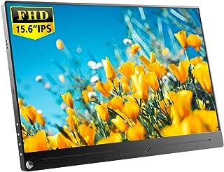 EVICIV 15.6インチ/モバイルモニター/モバイルディスプレイ/薄型/IPSパネル/USB Type-C/標準HDMI/mini DP/スタンド付 EVC-1501