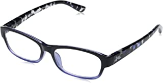 Foster Grant Women's Beatrice 1017873-100.COM Oval Reading Glasses
