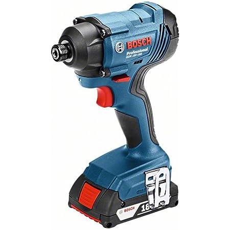Bosch Professional(ボッシュ) 18V コードレスインパクトドライバー (2.0Ahバッテリー2個・充電器・キャリングケース付) GDR18V-160