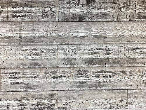 Easy Planking E-110 Country Thermally-Modified Barn Wood Wall Planks 48 in. (10 sq. ft, Black/White, 6 Piece