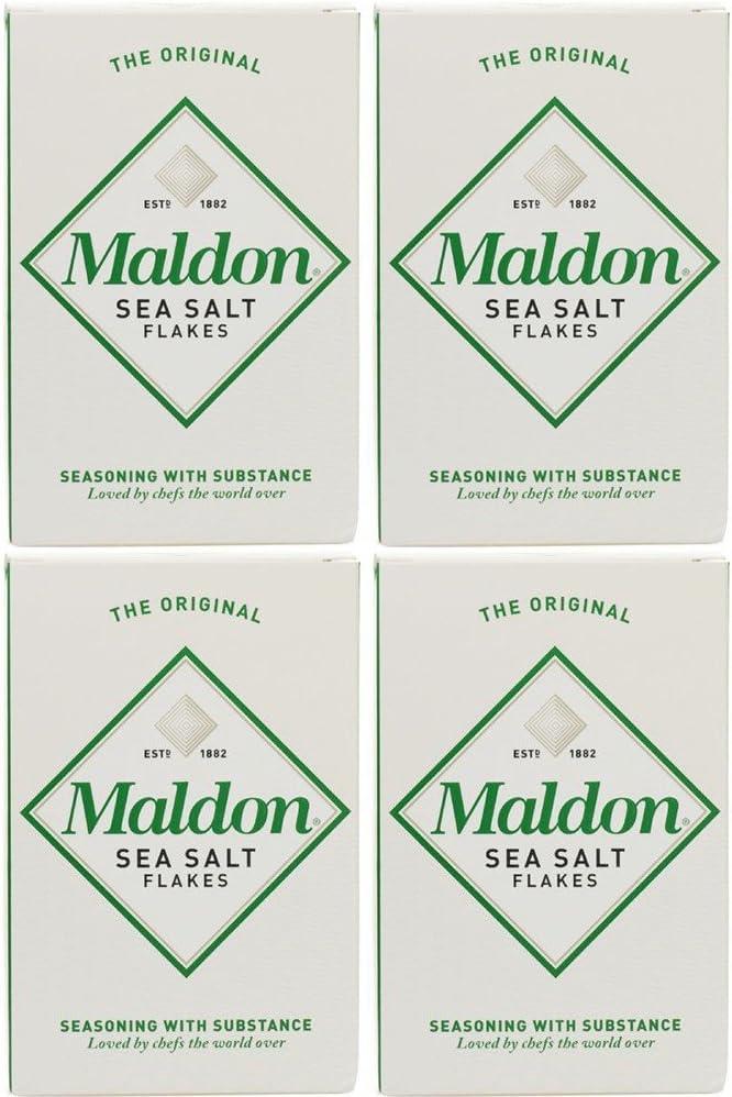 4 San Francisco Mall Pack - Maldon Salt free MAL-MAL125 Sea Bun 125g