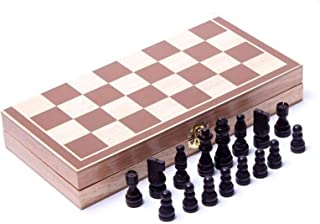Chess Board Wooden Adults Kids Chess Set Travel Chess Board Game Educational Chess Game Family Indoor Chess Entertainment ...