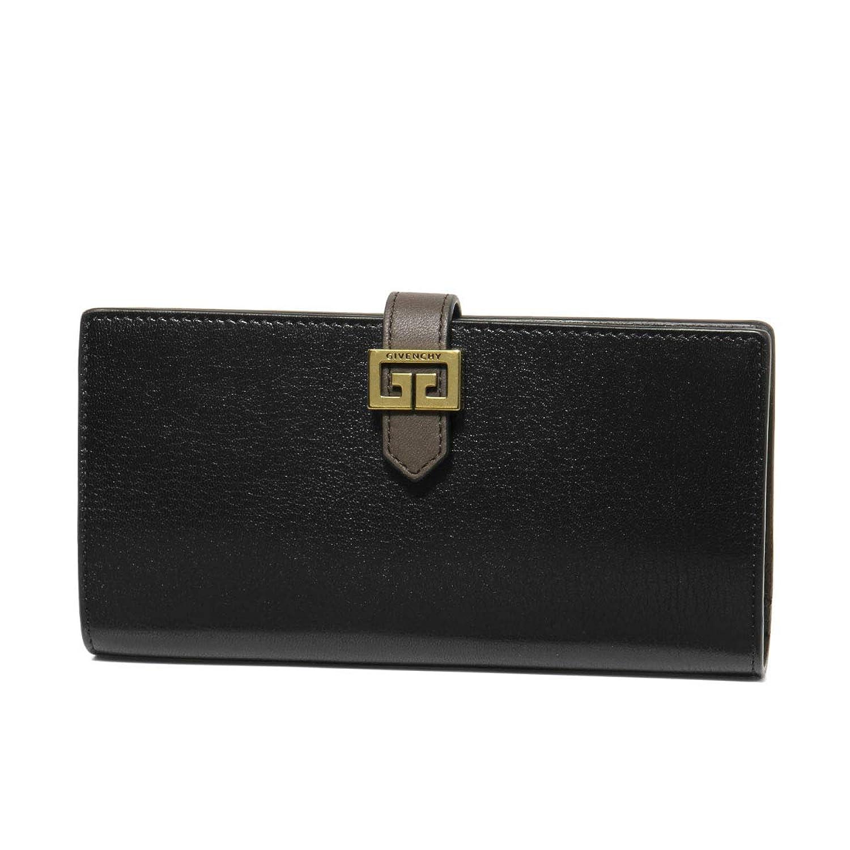 (ジバンシー) GIVENCHY 二つ折り長財布 ブラック BB606RB056 002 [並行輸入品]