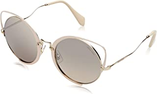 Miu Miu Cat Eye Sunglasses for Women, Brown - MU51TS 4UD08554