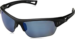 Under Armour Ua Octane Polarized Wrap Sunglasses Black 68 mm