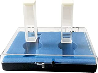 Quartz Cuvettes 10mm Sample Cell Absorption Cell Spectrometer Cell 3.5ML