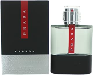 Prada Luna Rossa CARBON for Men Eau de Toilette Spray, 3.4 ounce