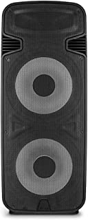 Torre Dupla Multilaser 15 Pol. 3500W BT/AUX/SD/FM LED Preto - SP344
