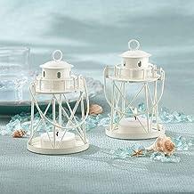 Kate Aspen, Suporte e vela para luz de chá da Lighthouse Collection, creme