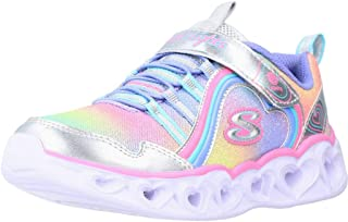 Skechers Heart Lights Rainbow Lux, Zapatillas Niñas