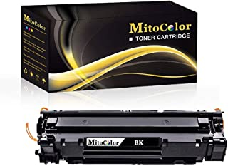 MitoColor Compatible CE749A Toner Cartridge Replacement for HP Laserjet Pro P1606dn Printer Toner Cartridge(Black, 1 Pack)