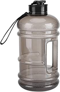 Asixx 2.2L Food Grade PETG Material Sports Water Bottle Cup Large Capacity for Outdoor Training Bodybuilding Gym Camping a...