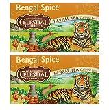 Celestial Seasonings Herbal Tea, Bengal Spice, (2 Pack)