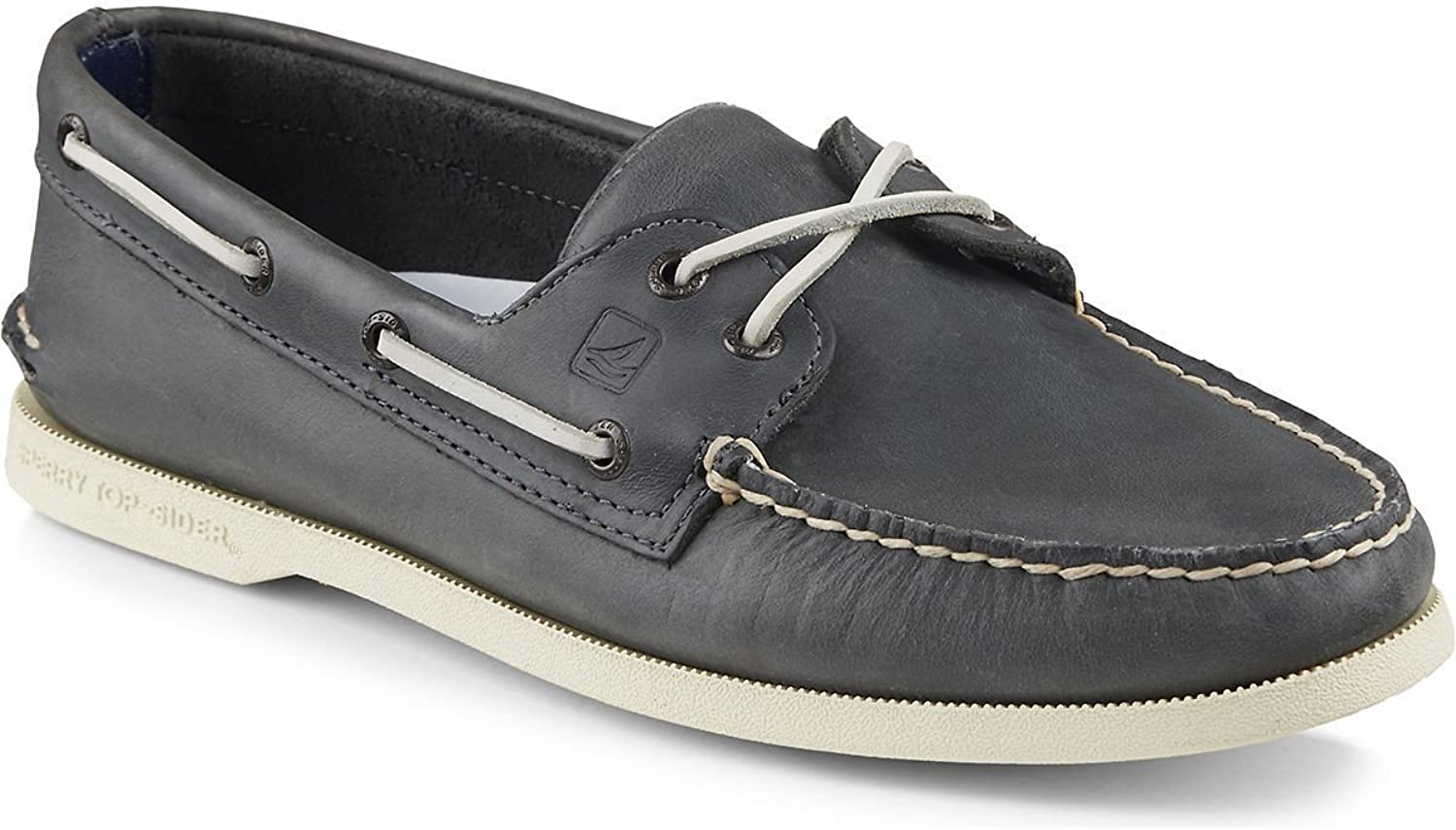 Sperry Top-Sider Men's Authentic Original 2-Eye Cross Lace Boat shoes Navy