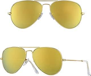 anteojos de sol polarizadas de vidrio natural para hombre y mujer, de Bnus Corning