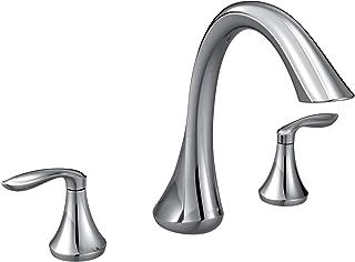 MOEN T943 Eva Collection Roman Tub Faucet 1 Chrome (Renewed)