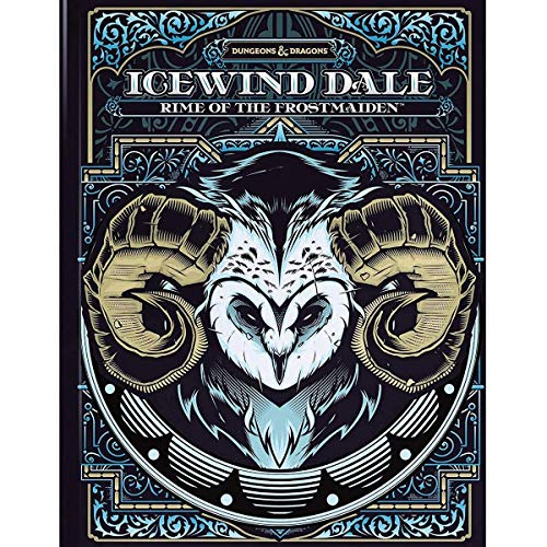 D&D RPG ICE WIND DALE RIME OF THE FROST MAIDEN HC ALT CVR