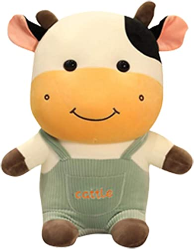 Soft Cow Plush hHugging Pillow Stuffed Animal Toys Doll Buddy Throw Hugging Pillow Stuffed Animal Toy Doll Gifts for Kids Bedding, Birthday, Valentine Day, Holiday, Home Sofa Decoration