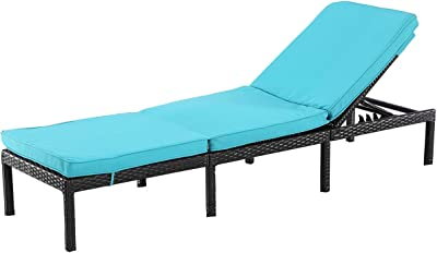 Amazon.com: Silla reclinable de textileno resistente para el ...