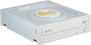 日立LGデータストレージ 24倍速対応スーパーマルチDVDドライブ ホワイト ソフト付き GH24NSD5 WH BLH