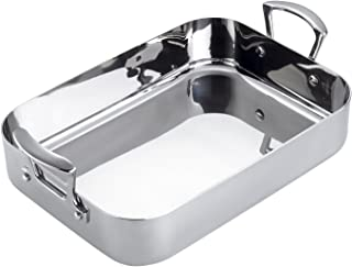 Scanpan Fusion 5 13-3/4-Inch-by-9-1/4-Inch Roasting Pan