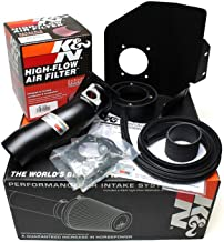 K&N Typhoon Cold Air Intake Kit + Filter Black 69-8004TTK for 08-14 Subaru Impreza WRX 2.5L H4