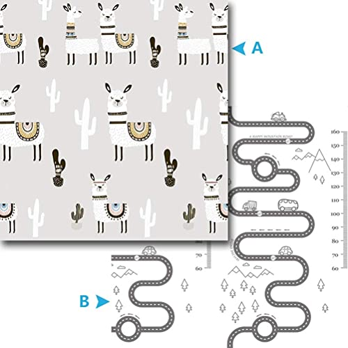 alta calidad y envío rápido Crawling Mat ZI Ling Shop- Estera Estera Estera del Juego del bebé Estera Plegable del bebé del Cuidado XPE del bebé para la Estera del Arrastre del Piso para el resbalón del Piso del bebé (Color   B)  El nuevo outlet de marcas online.