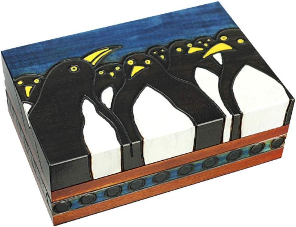 Madagascar 2021new shipping free Penguins Handmade Polish Jewelry Keepsake Surprise price Box