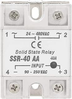 SSR-25DD Halbleiterrelais 25A DC-zu-DC-Eingang 3-32 V Last 5-220 V