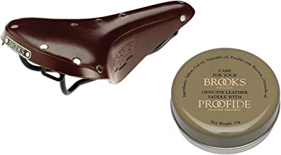 Brooks England Men's B17 Standard Saddle w/Proofide Saddle Dressing 25g