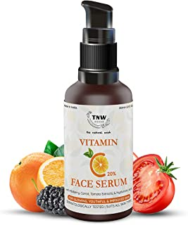 TNW-THE NATURAL WASH Vitamin C Face Serum|Skin Clearing|Skin Repair Face Serum & Face Brightening Vitamin C Serum Reduce h...