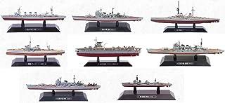 Lot de 4 Navires de guerre japonais 1:1100 DeAgostini Bateau Militaire LT24