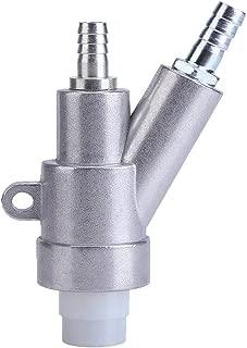 Jewboer Air Sandblaster Sand blasting Gun for rust dust remove sandblaster air tool with Boron Carbide Nozzle (8MM)