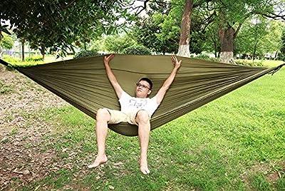 HUANGZHENYIN Hamaca para Dormir 2-3 Personas Hamak Jardín Swing ...
