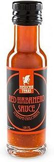 Mexican Tears - Red Habanero Sauce, scharfe Sauce aus Chili & Meersalz, perfekt als Grill-Zubehör für BBQ Sauce, Pulled Pork & zum Aufpeppen von Pizza & Pasta 100ml Chilisauce