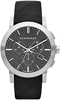 meilleure sélection 88033 dd544 Amazon.fr : Bracelet Montre Burberry - Cuir : Montres