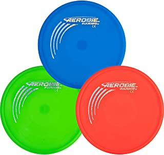 Aerobie Squidgie Flying Disc - 3 Pack - Assorted Colors
