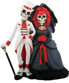StealStreet Skeleton DOD Gothic Wedding Couple Figurine Decoration Collectible