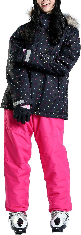 VAXPOT (back spot) ski wear Ladies set down VA2019 DTMUL   PNK WM (M for women)
