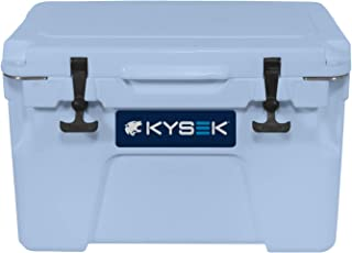 KYSEK The Ultimate Ice Chest Extreme Cold Cooler, Marine Blue, 25 Liter