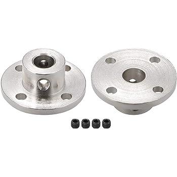 conector de motor de acoplamiento para piezas de bricolaje SENRISE Acoplamiento de brida 5 juegos de acoplamiento r/ígido para eje de motor