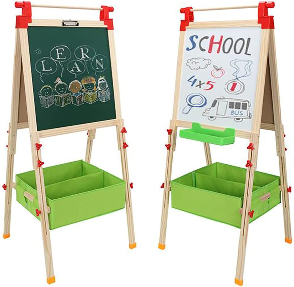 Rapid rise Easel for Kids Double Sided and Whiteboard Under blast sales Magnetic greenboardAd