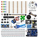 The best option to starting learn about Arduino smd programming. High quality smd Uno R3 Basic Learning kit with 100% compatible with Arduino smd All components compatible with Arduino, can be used directly. With tutorial user manual containing PDF L...