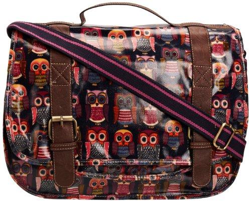 District29 Girl's Rue Owl Print Satchel Multi Color SS01082